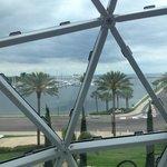 vista de dentro do Museu Dali