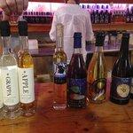 Tasting spirits at the distillery