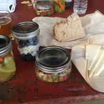 Our lovely picnic lunch- so cute and so yummy!