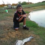 The Duck Pond and My Son Fishing :)