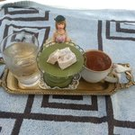 turkish coffee with Lokum! so cute