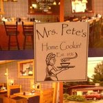 Foto de Mrs. Pete's Restaurant