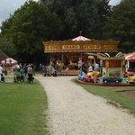 Fairground part of Steam show