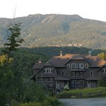 View of condo and mountain from Cap Tremblant