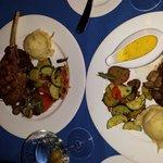 filet and lamb