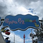 Entry Sign - Peppa Pig World
