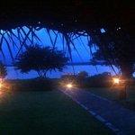 lobby view to river Kabini