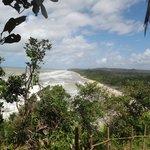 Praia de Itacarezinho - vista a partir da trilha