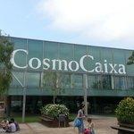 L'entrée de CosmoCaixa