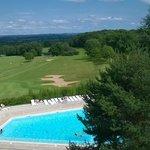 piscine et golf