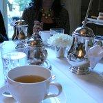 Mesa de té.