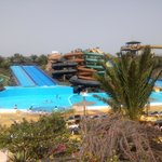 Nearby waterpark, great day