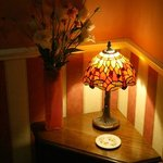 Pretty lamp in Upstairs Hall