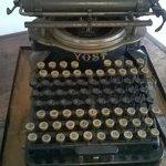 Máquina de escrever de 1878