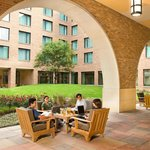 Our courtyard is a great place to relax.