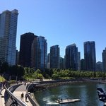 Sunny Sunday on Vancouver seawall