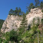 Spearfish Canyon, view 1