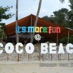 The Coco Beach Facade