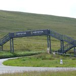 Bike track on Snaefell