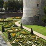Il giardino all'inglese nel fossato