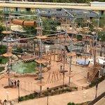 Attraction du parc vue depuis le balcon