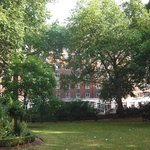 Hotel view from Tavistock Square