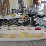 KJ wine and cheese tasting