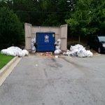 Their dumpster last Saturday (Aug 16)