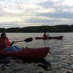 Me canoeing