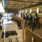 huge lobby