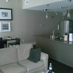 One Bedroom - Living/Dining/Kitchen area