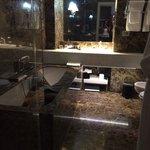 Bathroom in jr suite