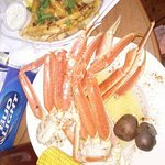Loggerheads Beach Grill really specializes in snow crabs