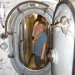 Hatch Door in Submarine