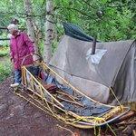 Mary's Mushing Sled & Tent
