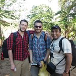 Tyler, David and our guide Moises
