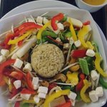 Healthy option - brown rice salad