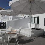 Terrace/Balcony of Honeymoon Suite
