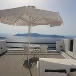 Terrace/Balcony of the Honeymoon Suite