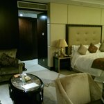 The Deluxe room, with a suite feel.