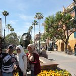 Shopping area near Santa Monica