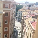 view from hotel to Larios str