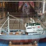 Das Modell des Schiffes