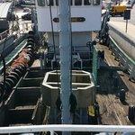 Ansicht vom Heck des Schiffes
