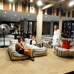 Chilling out in Villa Phra Sumen