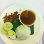 Breakfast Nasi Lemak