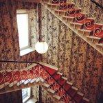 Central stairwell