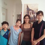 Dear Lucilla. We were so happy in your house.Thank for all your help~^^Thank you!