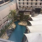 main pool from room
