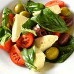 Puerto Rican Caprese, we combine Italy & Puerto Rico in this refreshing salad